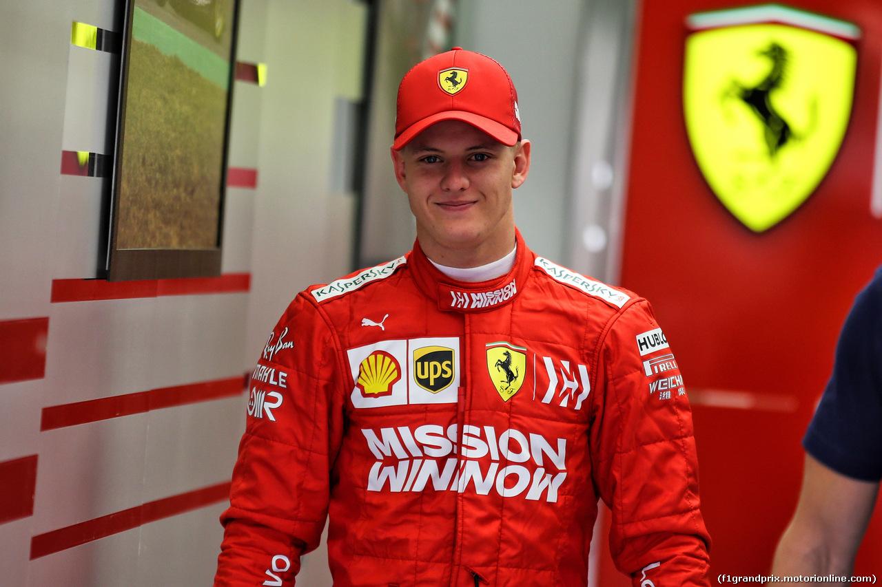 TEST F1 BAHRAIN 2 APRILE, Mick Schumacher (GER) Ferrari Test Driver. 02.04.2019.