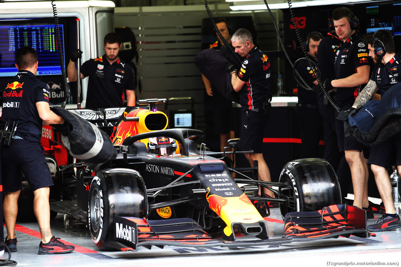 TEST F1 BAHRAIN 2 APRILE, Max Verstappen (NLD) Red Bull Racing RB15. 02.04.2019.