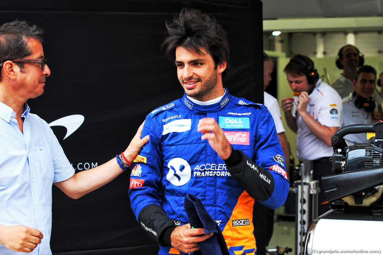 TEST F1 BAHRAIN 2 APRILE, Carlos Sainz Jr (ESP) McLaren. 02.04.2019.