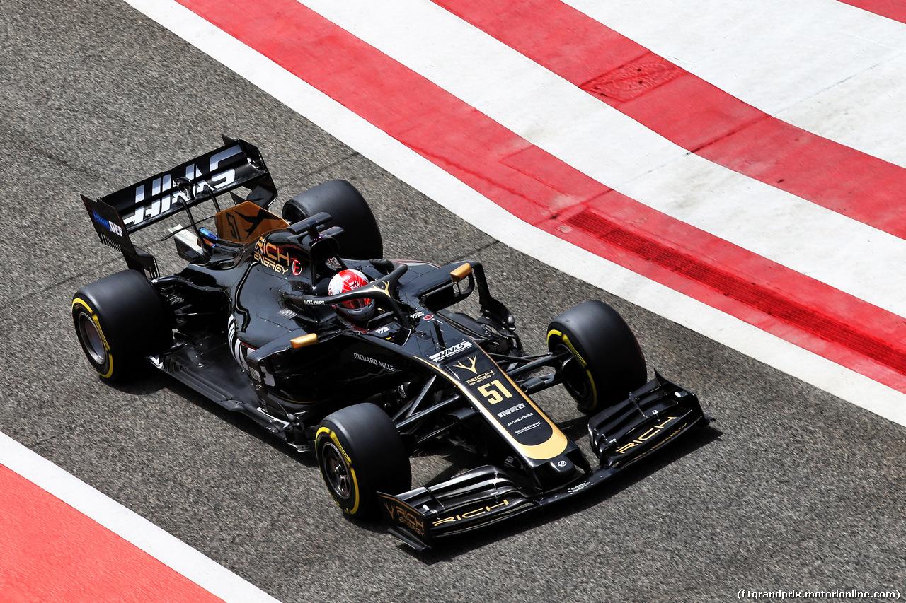 TEST F1 BAHRAIN 3 APRILE, Pietro Fittipaldi (BRA) Haas VF-19 Test Driver. 03.04.2019.