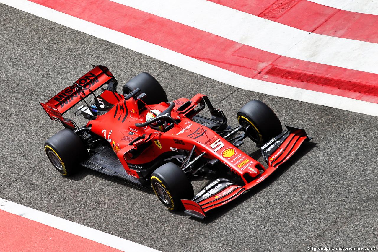 TEST F1 BAHRAIN 3 APRILE