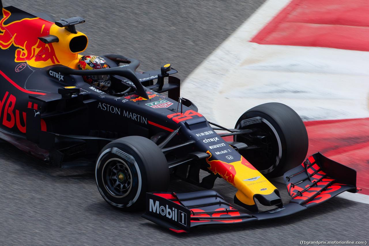 TEST F1 BAHRAIN 3 APRILE, Dan Ticktum (GBR) Red Bull Racing RB15 Test Driver. 03.04.2019.
