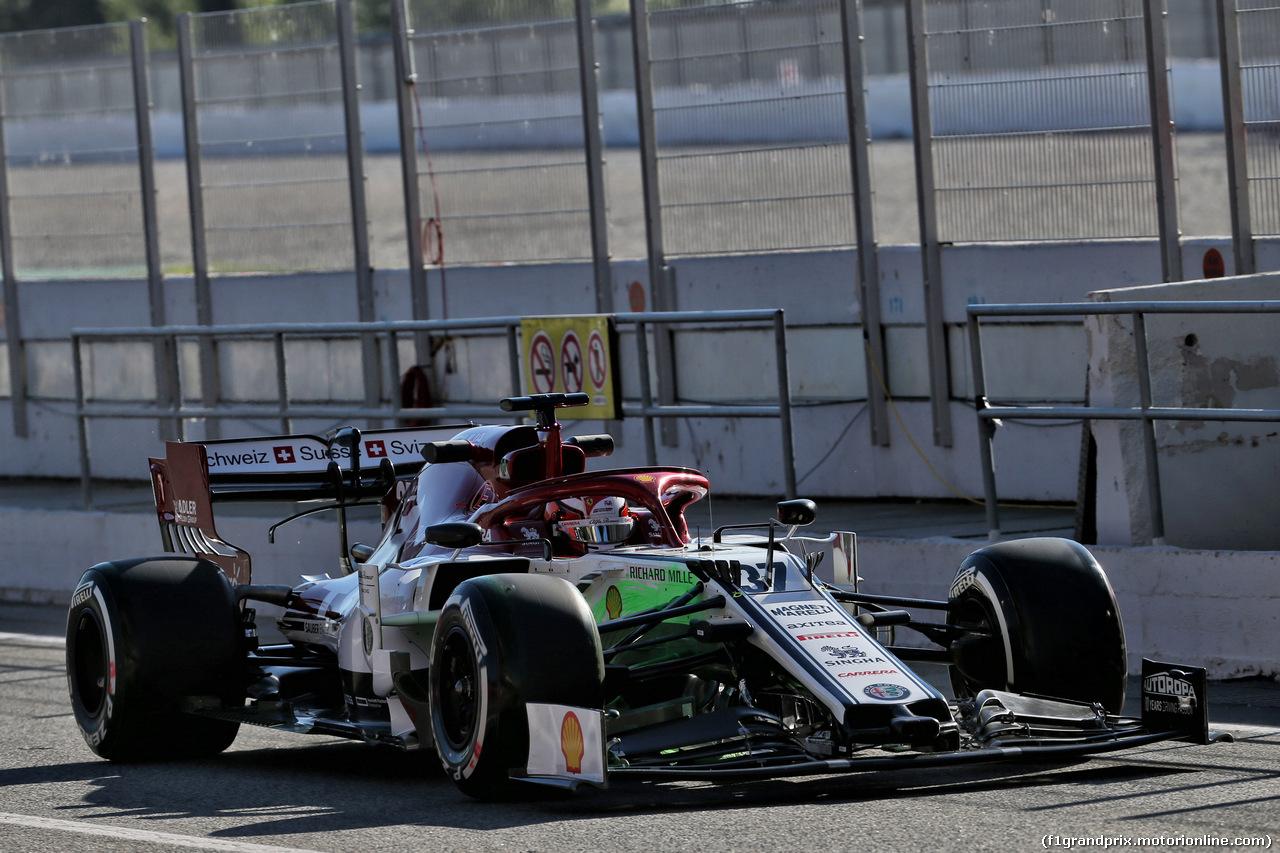 TEST F1 BARCELLONA 14 MAGGIO