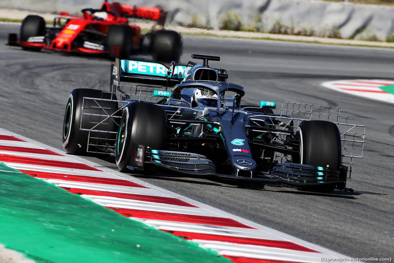 TEST F1 BARCELLONA 14 MAGGIO, Valtteri Bottas (FIN) Mercedes AMG F1 W10. 14.05.2019.