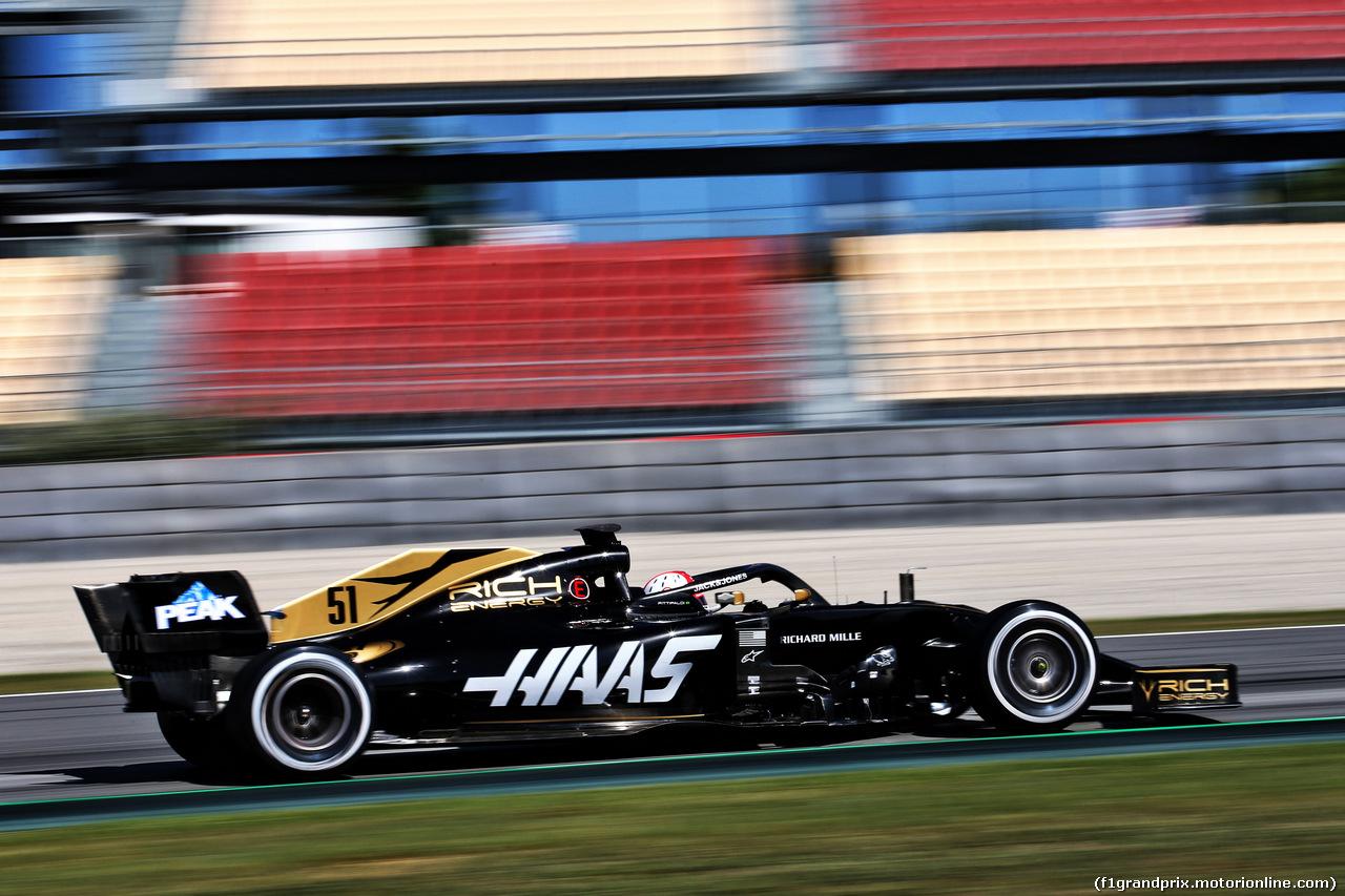 TEST F1 BARCELLONA 14 MAGGIO, Pietro Fittipaldi (BRA) Haas VF-19 Test Driver. 14.05.2019.