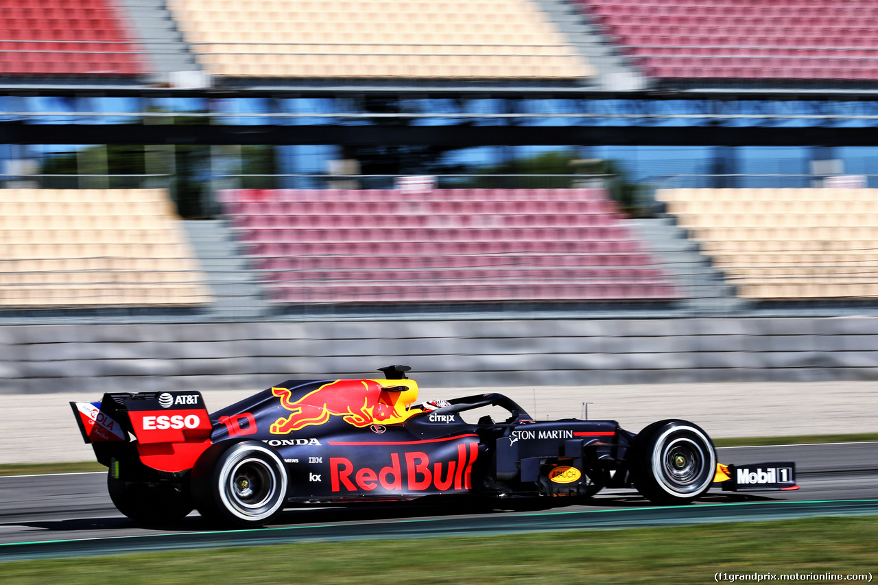 TEST F1 BARCELLONA 14 MAGGIO, Pierre Gasly (FRA) Red Bull Racing RB15. 14.05.2019.