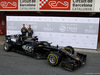 TEST F1 BARCELLONA 18 FEBBRAIO, (L to R): Romain Grosjean (FRA) Haas F1 Team e Kevin Magnussen (DEN) Haas F1 Team with the Haas VF-19. 18.02.2019.