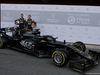 TEST F1 BARCELLONA 18 FEBBRAIO, (L to R): Romain Grosjean (FRA) Haas F1 Team e Kevin Magnussen (DEN) Haas F1 Team with the Haas VF-19. 18.02.2019.