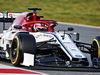 TEST F1 BARCELLONA 18 FEBBRAIO, Kimi Raikkonen (FIN) Alfa Romeo Racing C38. 18.02.2019.