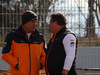 TEST F1 BARCELLONA 18 FEBBRAIO, Zak Brown (USA) McLaren Executive Director (right)