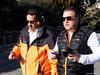 TEST F1 BARCELLONA 18 FEBBRAIO, (L to R): Sheikh Mohammed bin Essa Al Khalifa (BRN) CEO of the Bahrain Economic Development Board e McLaren Shareholder with Zak Brown (USA) McLaren Executive Director. 18.02.2019.
