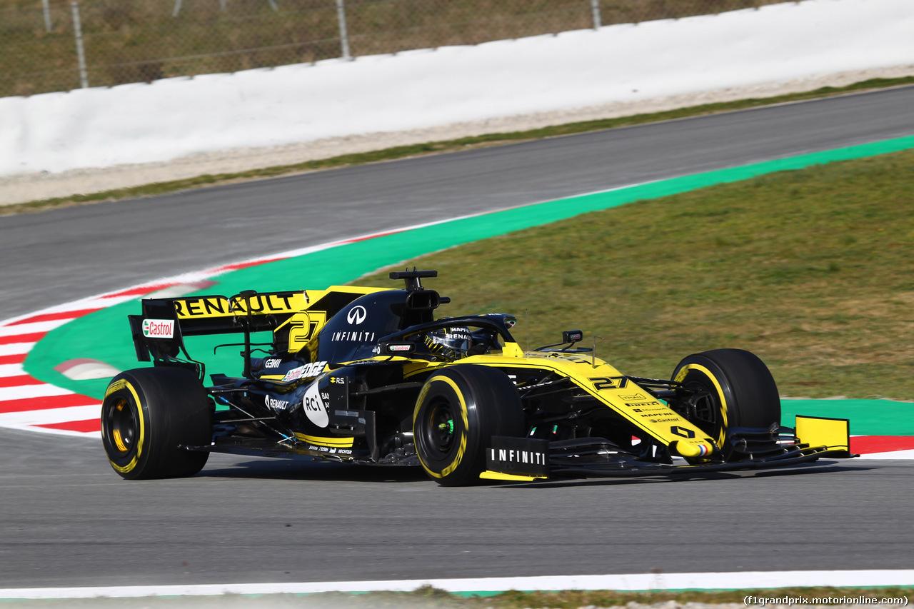 TEST F1 BARCELLONA 18 FEBBRAIO, Nico Hulkenberg (GER) Renault Sport F1 Team RS19