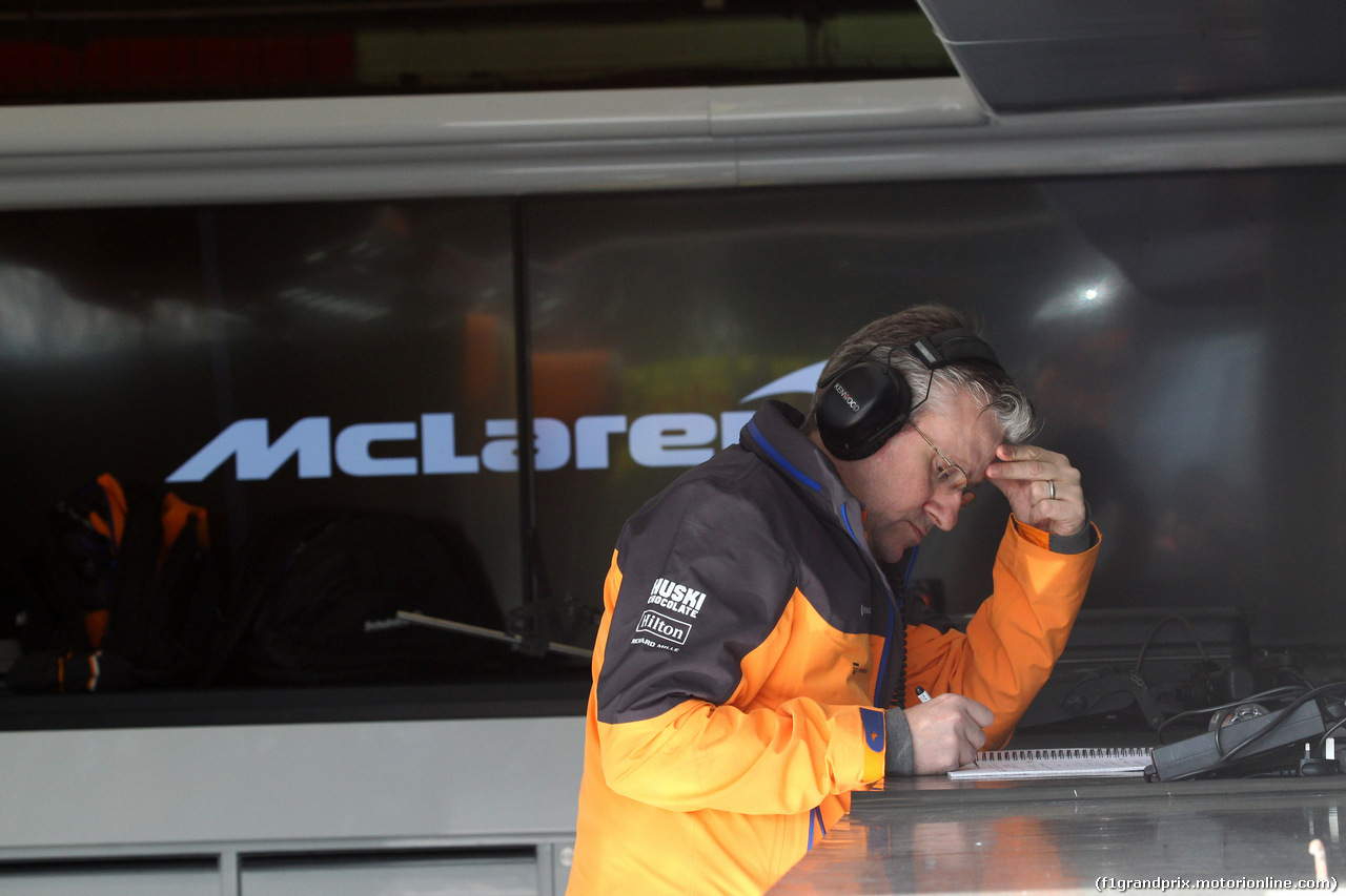 TEST F1 BARCELLONA 18 FEBBRAIO, McLaren Renault MCL34