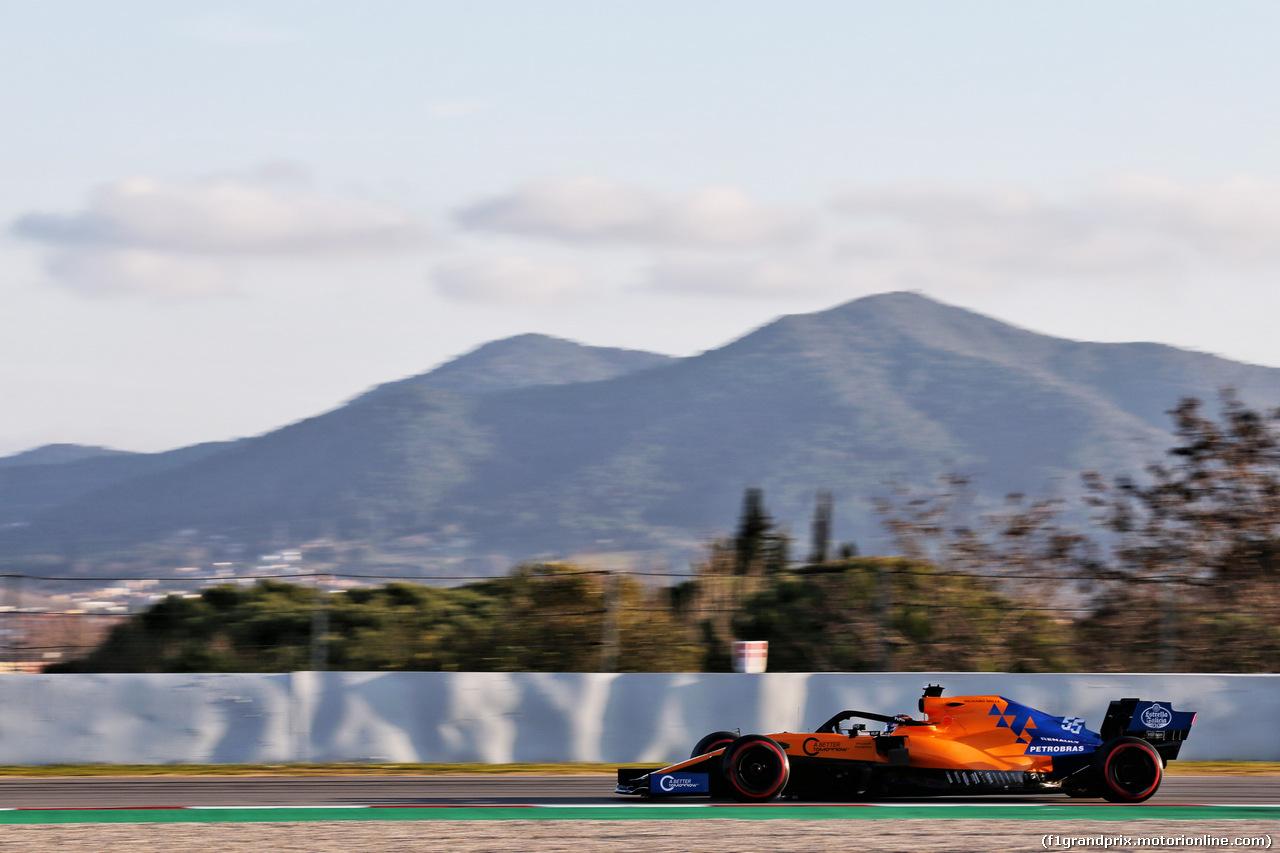 TEST F1 BARCELLONA 18 FEBBRAIO, Carlos Sainz Jr (ESP) McLaren MCL34. 18.02.2019.