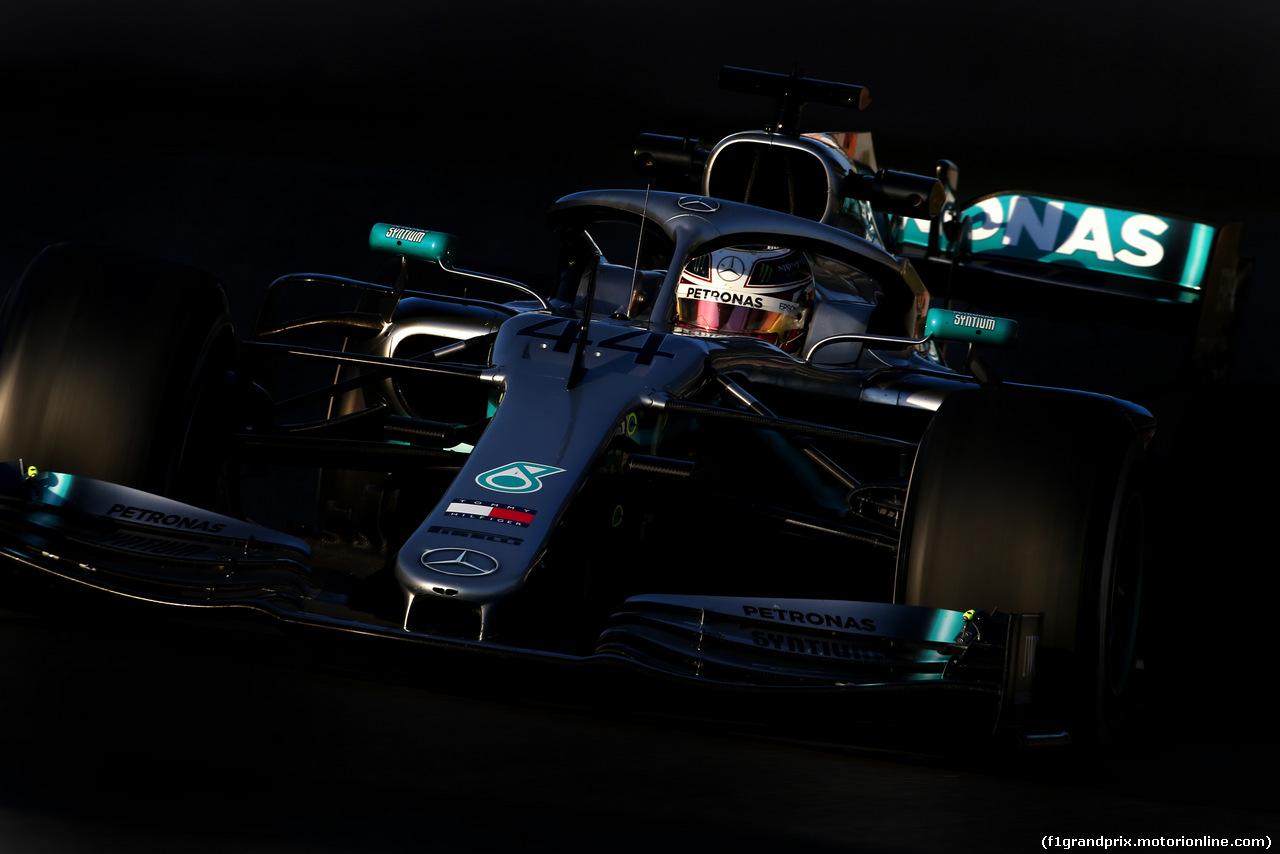 TEST F1 BARCELLONA 18 FEBBRAIO, Lewis Hamilton (GBR), Mercedes AMG F1   18.02.2019.