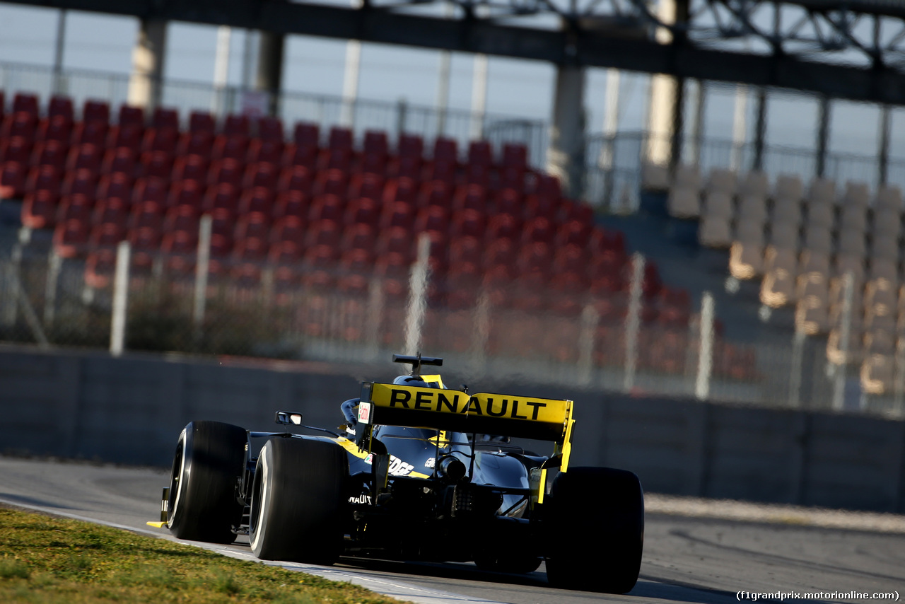 TEST F1 BARCELLONA 18 FEBBRAIO, Daniel Ricciardo (AUS), Renault F1 Team  18.02.2019.