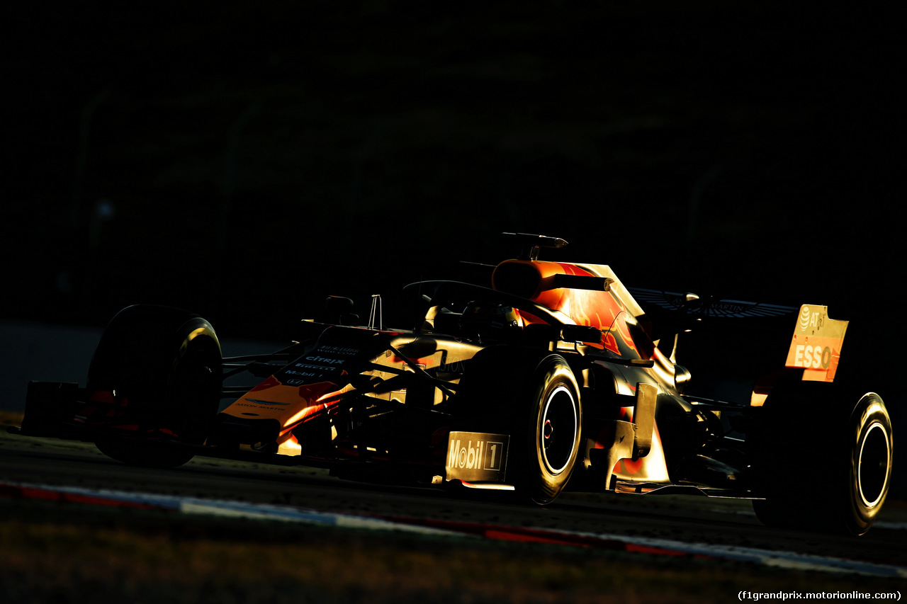 TEST F1 BARCELLONA 18 FEBBRAIO, Max Verstappen (NLD) Red Bull Racing RB14. 18.02.2019.