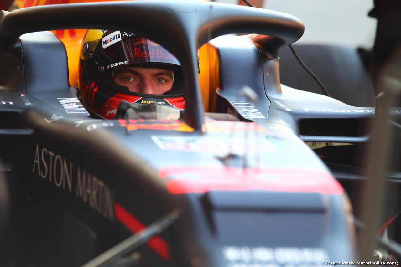 TEST F1 BARCELLONA 18 FEBBRAIO, Max Verstappen (NED) Red Bull Racing RB15