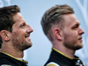 TEST F1 BARCELLONA 18 FEBBRAIO, (L to R): Romain Grosjean (FRA) Haas F1 Team with team mate Kevin Magnussen (DEN) Haas F1 Team. 18.02.2019.