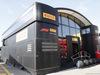 TEST F1 BARCELLONA 19 FEBBRAIO, Pirelli MotorHome