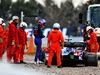 TEST F1 BARCELLONA 19 FEBBRAIO, Alexander Albon (THA) Scuderia Toro Rosso STR14 in the gravel trap. 19.02.2019.
