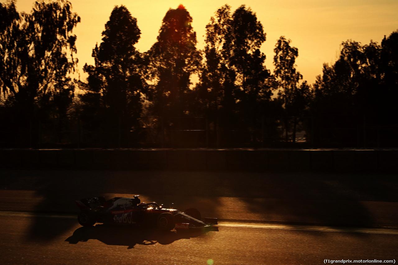 TEST F1 BARCELLONA 19 FEBBRAIO, Daniil Kvyat (RUS) Scuderia Toro Rosso STR14. 18.02.2019.