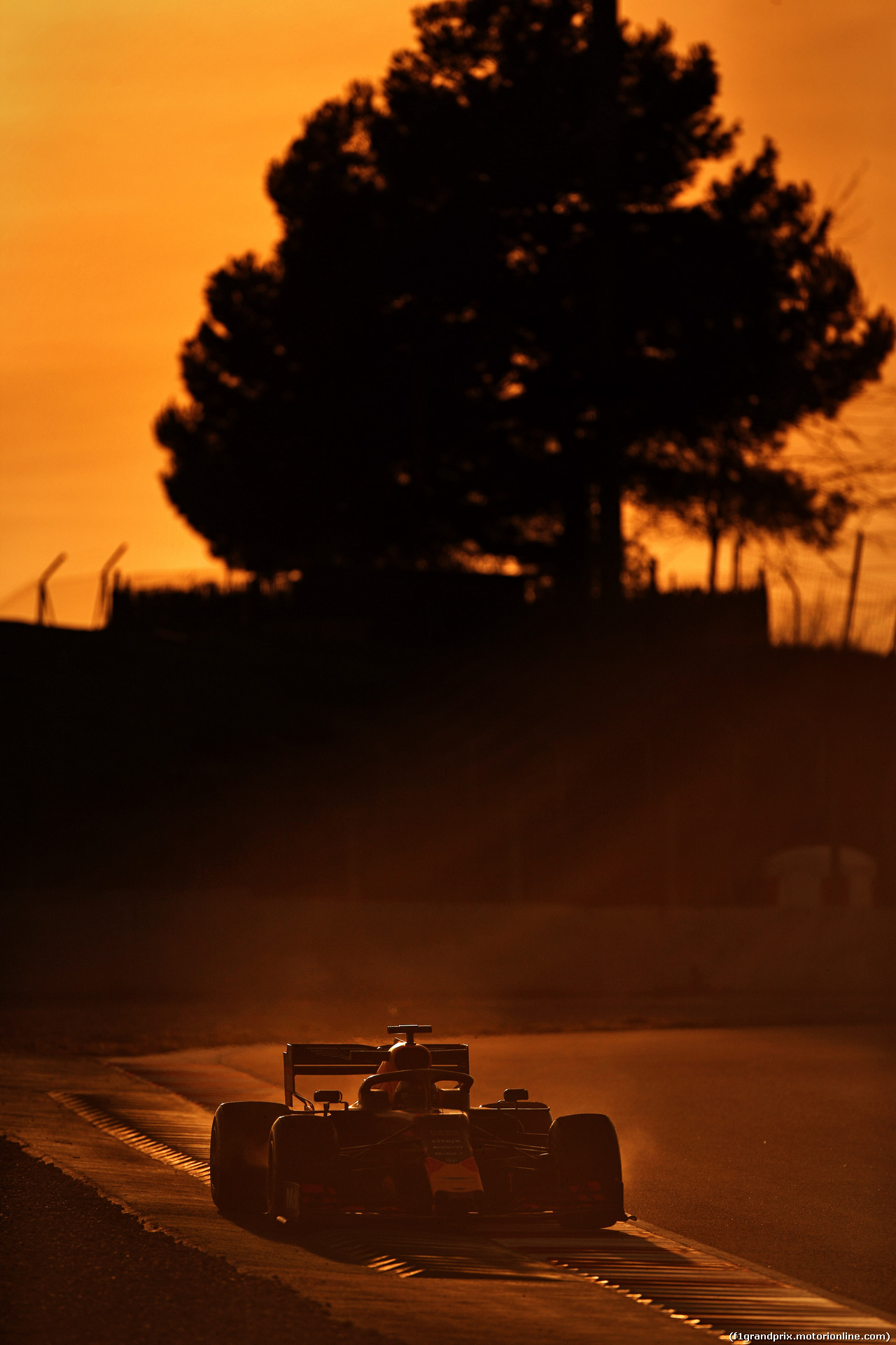 TEST F1 BARCELLONA 19 FEBBRAIO, Max Verstappen (NLD) Red Bull Racing RB14. 18.02.2019.
