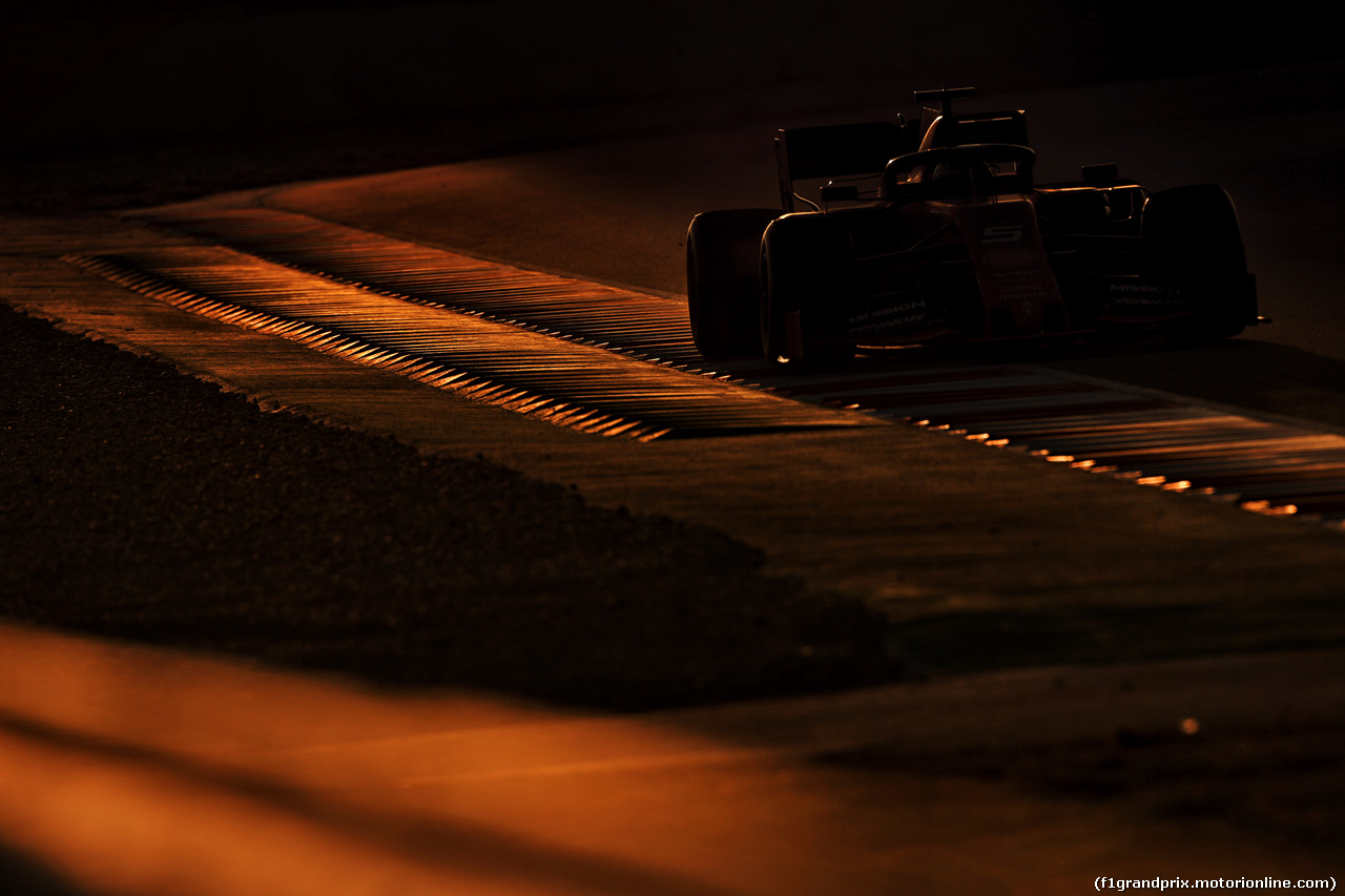 TEST F1 BARCELLONA 19 FEBBRAIO, Sebastian Vettel (GER) Ferrari SF90. 18.02.2019.