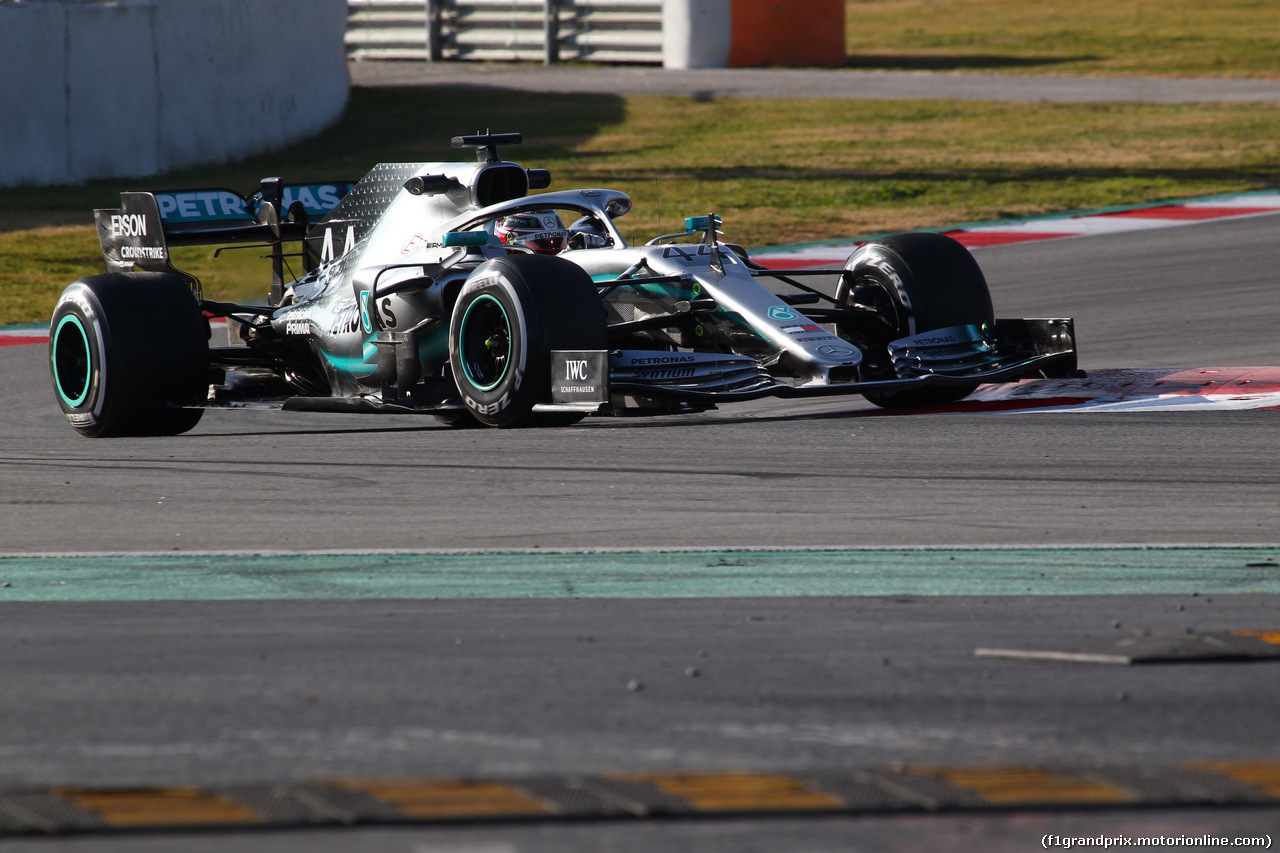 TEST F1 BARCELLONA 19 FEBBRAIO, Lewis Hamilton (GBR) Mercedes AMG F1 W10