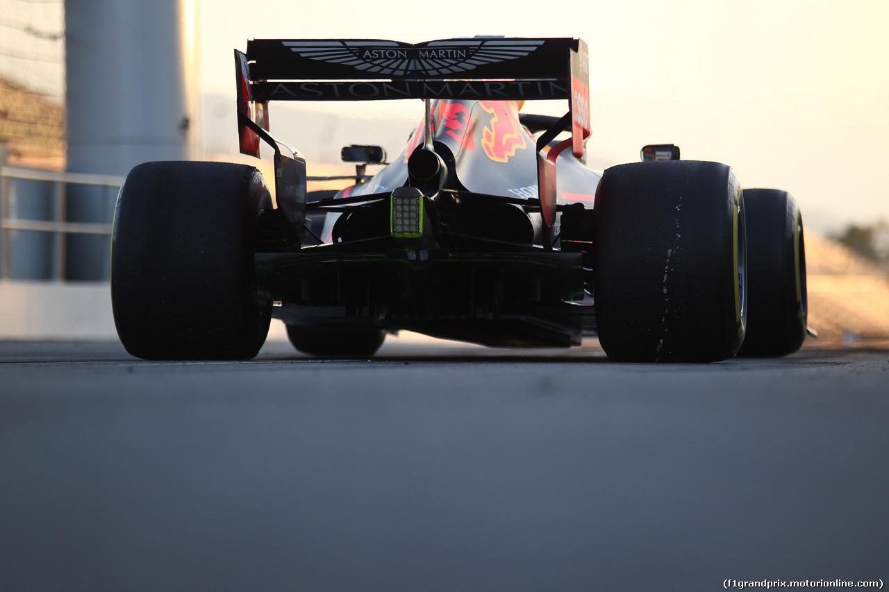 TEST F1 BARCELLONA 19 FEBBRAIO, Max Verstappen (NED) Red Bull Racing RB15