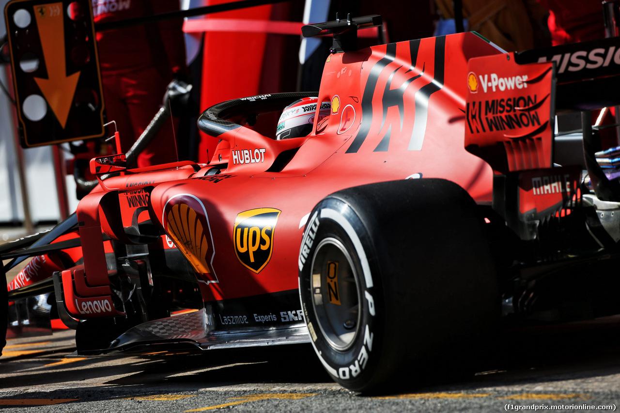 TEST F1 BARCELLONA 19 FEBBRAIO, Charles Leclerc (MON) Ferrari SF90. 19.02.2019.