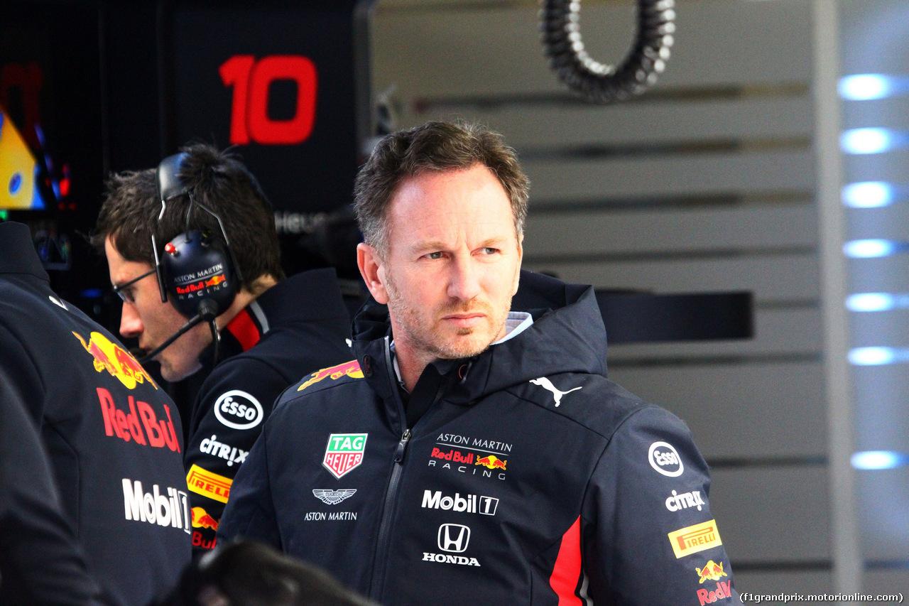 TEST F1 BARCELLONA 19 FEBBRAIO, Christian Horner (GBR), Red Bull Racing Team Principal