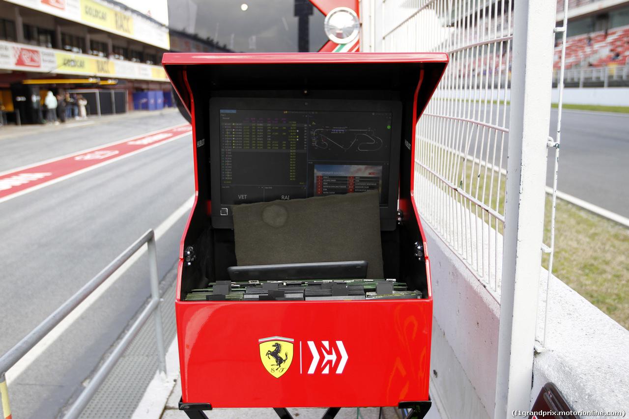TEST F1 BARCELLONA 19 FEBBRAIO, Ferrari