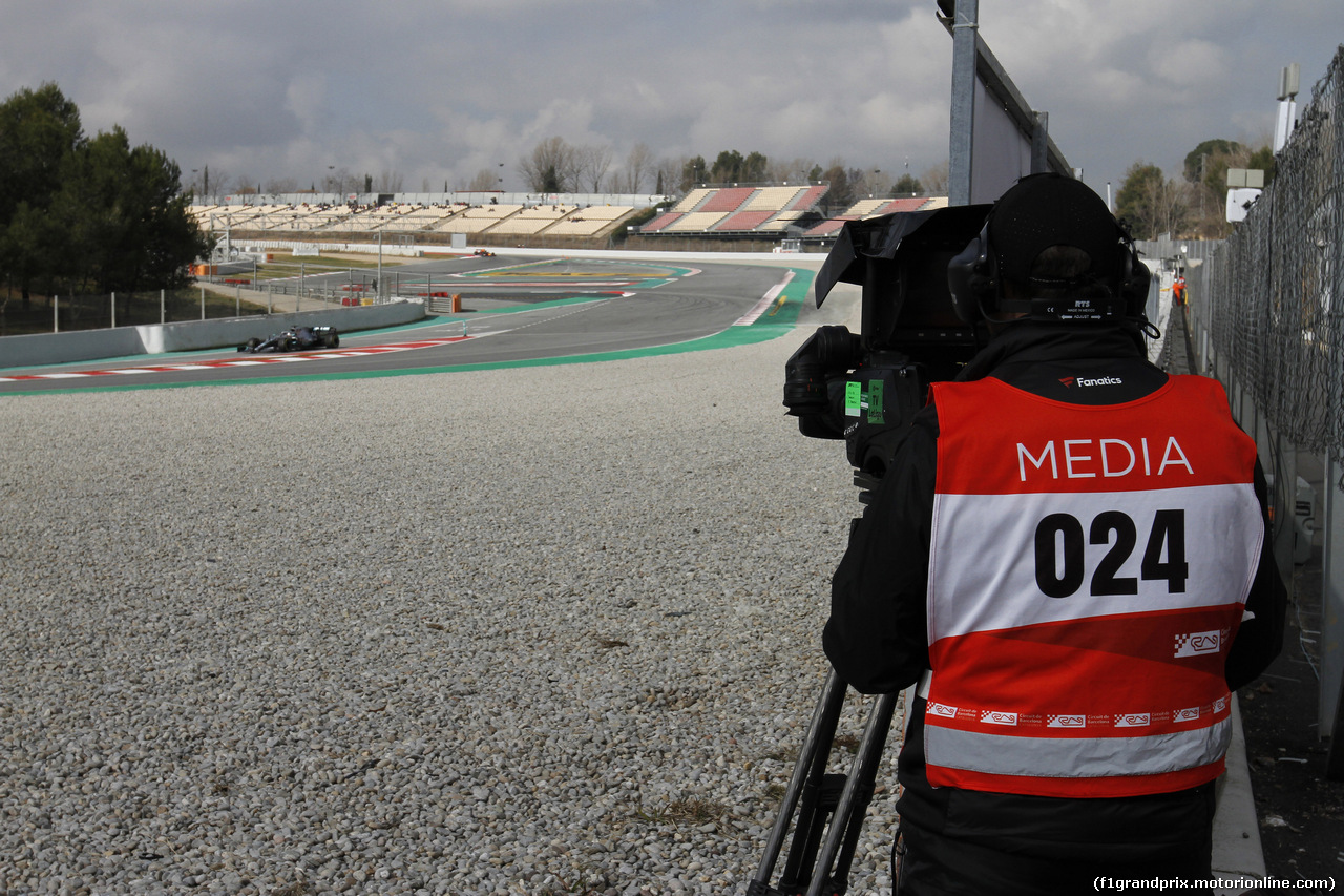 TEST F1 BARCELLONA 19 FEBBRAIO, Track Atmosphere