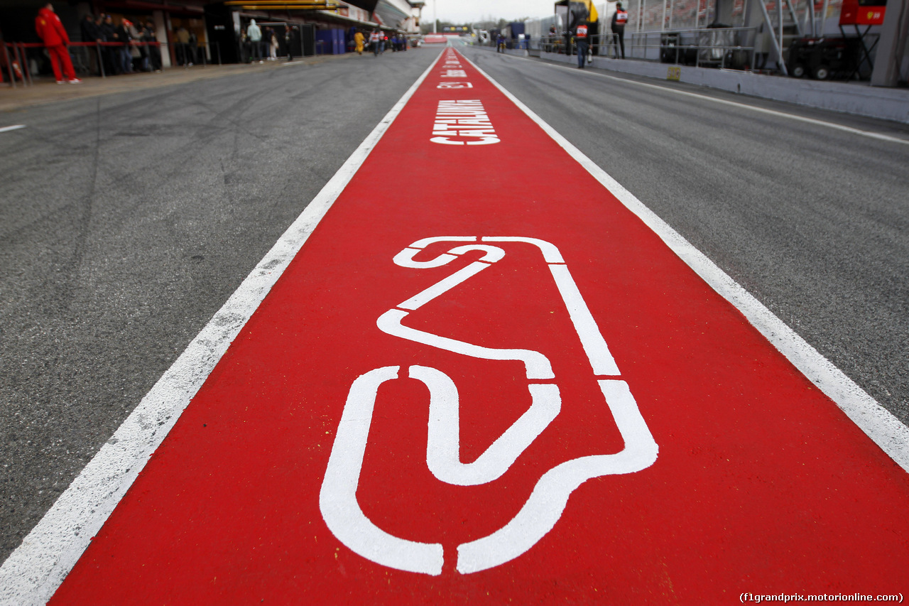 TEST F1 BARCELLONA 19 FEBBRAIO, Paddock Atmosphere