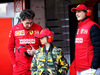 TEST F1 BARCELLONA 1 MARZO, Mattia Binotto (ITA) Ferrari Team Principal (Left) with John Elkann (ITA) FIAT Chrysler Automobiles Chairman. 01.03.2019.