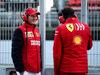 TEST F1 BARCELLONA 1 MARZO, (L to R): John Elkann (ITA) FIAT Chrysler Automobiles Chairman with Mattia Binotto (ITA) Ferrari Team Principal. 01.03.2019.