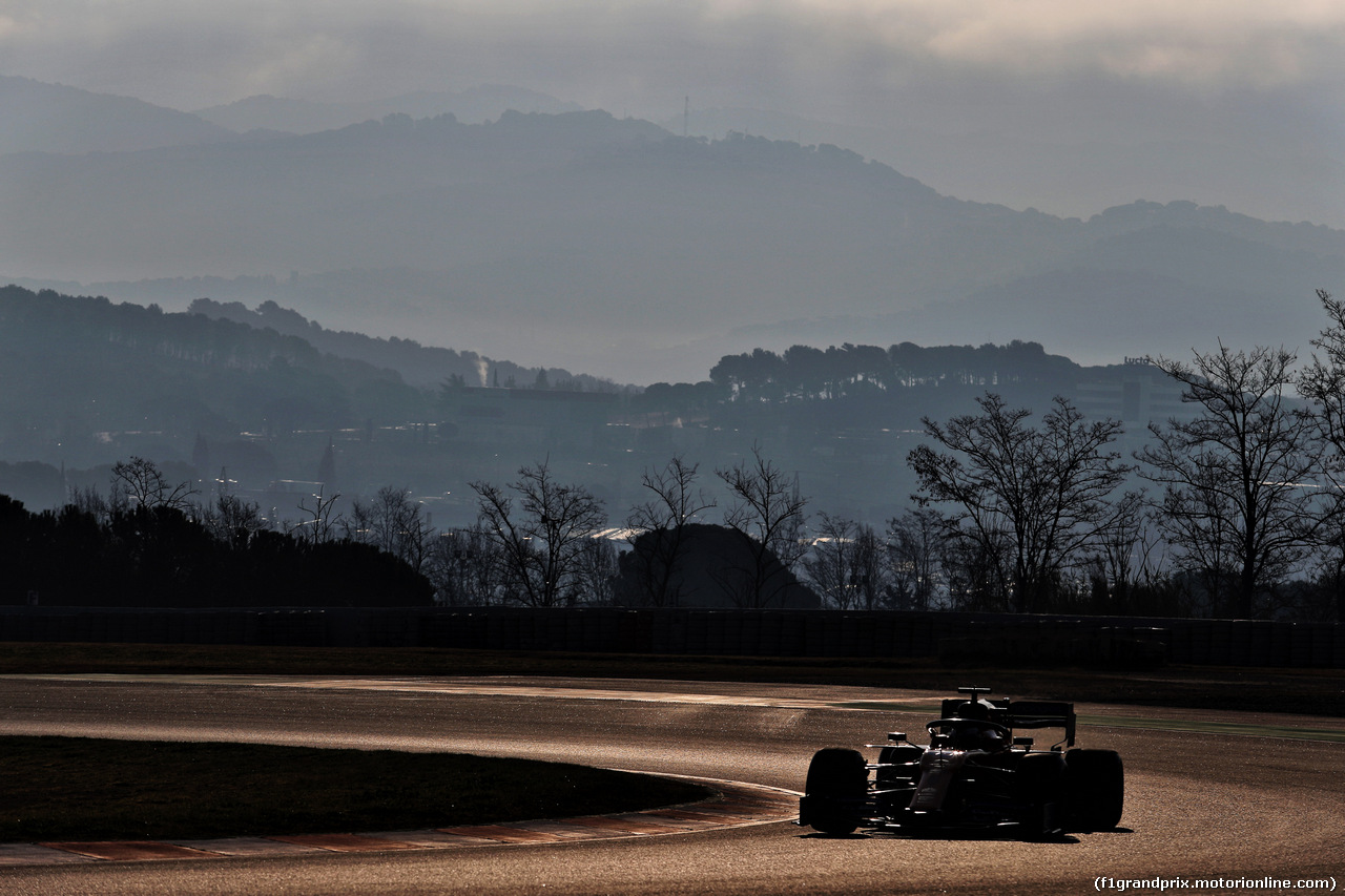 TEST F1 BARCELLONA 1 MARZO, Carlos Sainz Jr (ESP) McLaren MCL34. 01.03.2019.