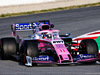 TEST F1 BARCELLONA 1 MARZO, Sergio Perez (MEX) Racing Point F1 Team RP19. 01.03.2019.