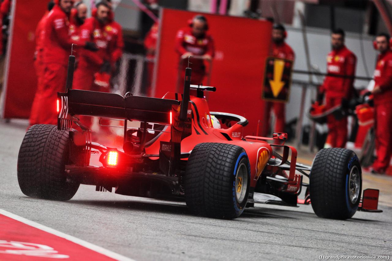TEST F1 BARCELLONA 20 FEBBRAIO, Sebastian Vettel (GER) Ferrari SF90. 20.02.2019.