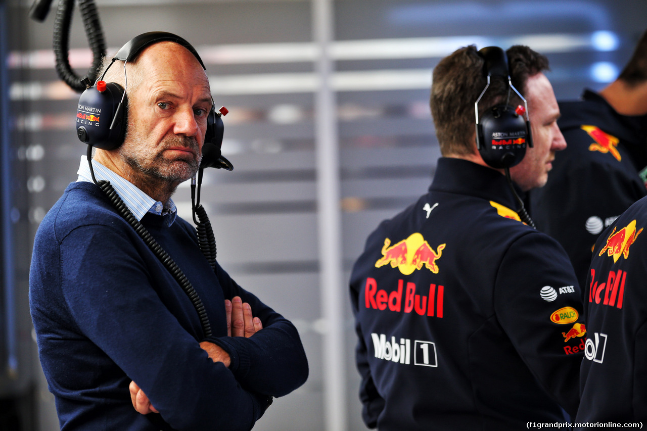 TEST F1 BARCELLONA 20 FEBBRAIO, Adrian Newey (GBR) Red Bull Racing Chief Technical Officer. 20.02.2019.