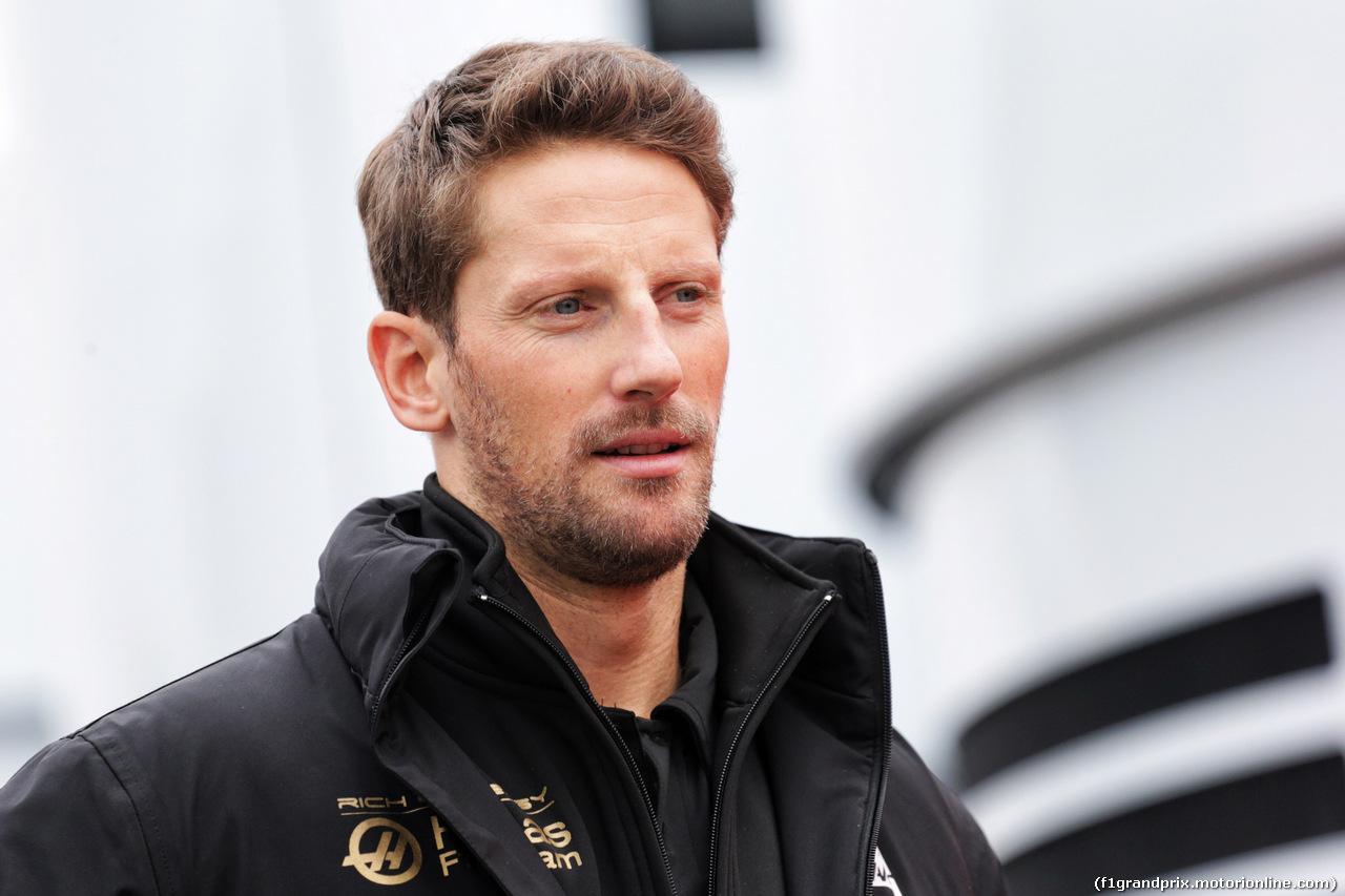 TEST F1 BARCELLONA 20 FEBBRAIO, Romain Grosjean (FRA) Haas F1 Team. 20.02.2019.