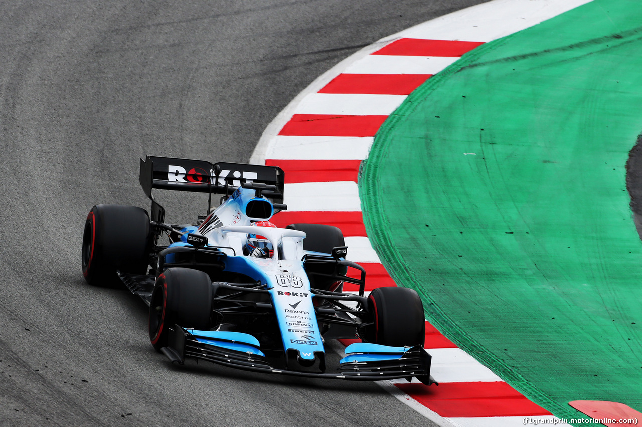 TEST F1 BARCELLONA 20 FEBBRAIO, George Russell (GBR) Williams Racing FW42. 20.02.2019.
