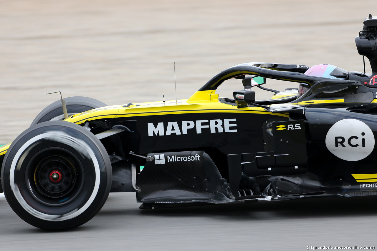 TEST F1 BARCELLONA 20 FEBBRAIO, Daniel Ricciardo (AUS), Renault F1 Team  20.02.2019.