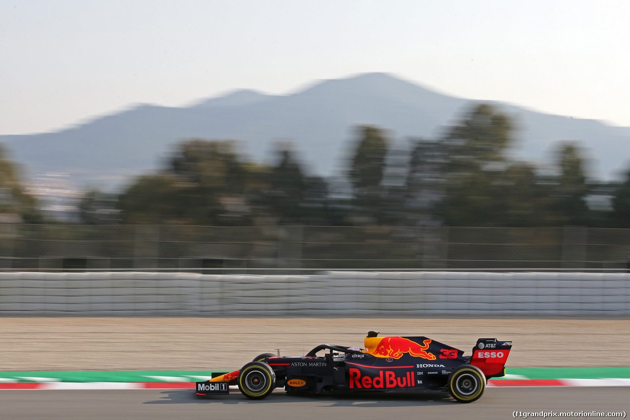 TEST F1 BARCELLONA 20 FEBBRAIO, Max Verstappen (NLD), Red Bull Racing  20.02.2019.