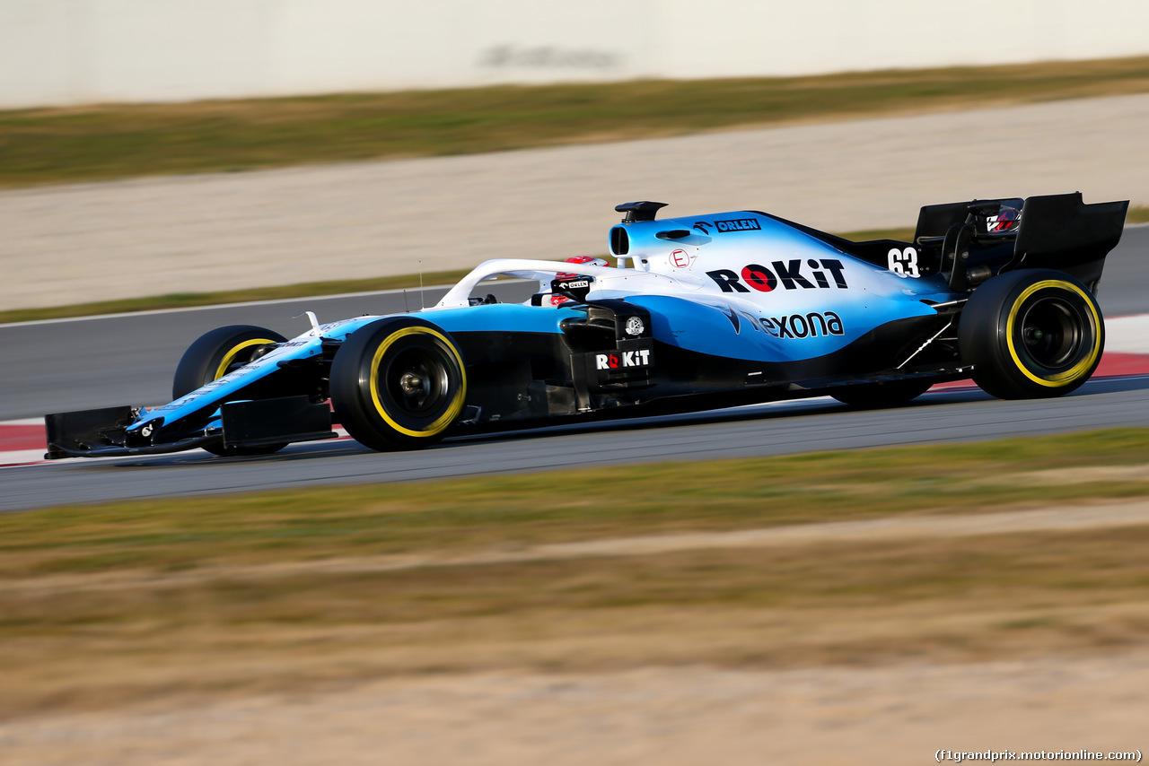 TEST F1 BARCELLONA 20 FEBBRAIO, George Russell (GBR), Williams F1 Team  20.02.2019.