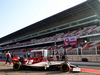 TEST F1 BARCELLONA 21 FEBBRAIO, Antonio Giovinazzi (ITA) Alfa Romeo Racing C38 leaves the pits. 21.02.2019.