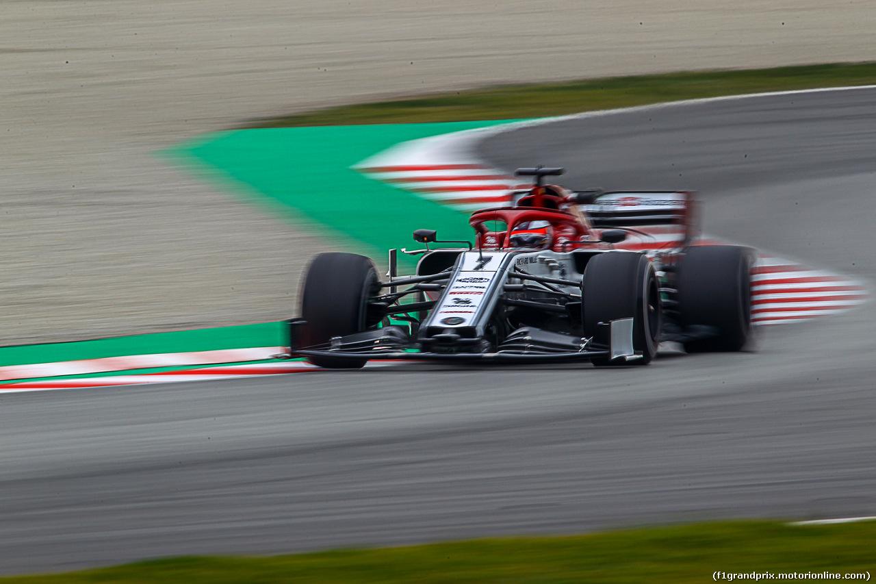 TEST F1 BARCELLONA 21 FEBBRAIO, Kimi Raikkonen (FIN) Alfa Romeo Racing C38
