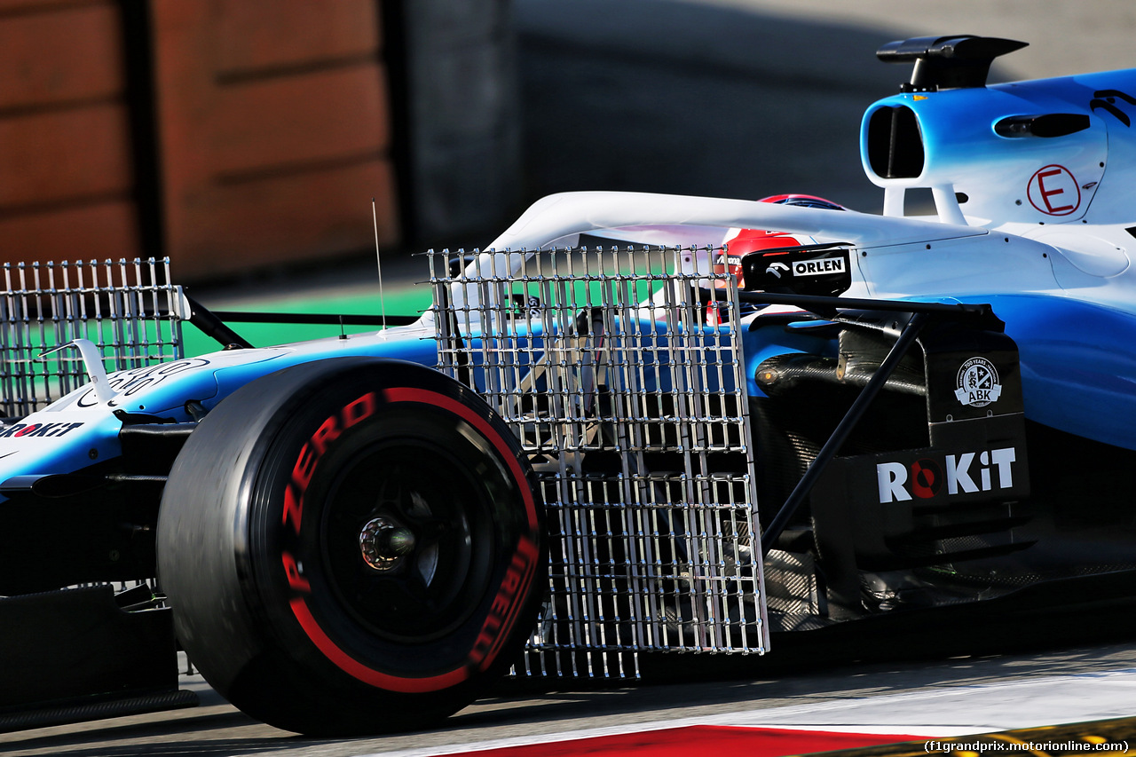 TEST F1 BARCELLONA 21 FEBBRAIO, Robert Kubica (POL) Williams Racing FW42. 21.02.2019.