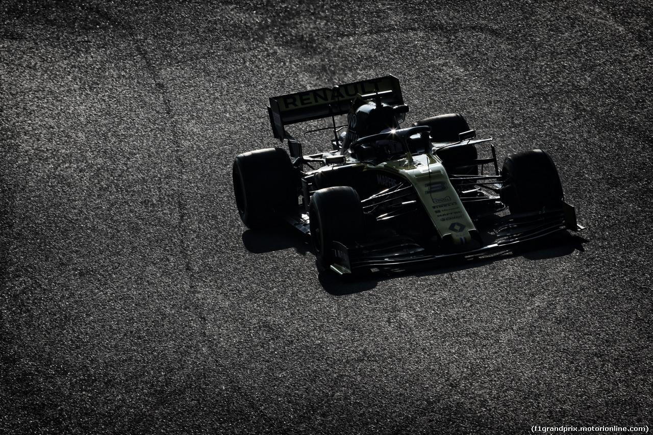 TEST F1 BARCELLONA 21 FEBBRAIO, Daniel Ricciardo (AUS) Renault Sport F1 Team RS19. 21.02.2019.